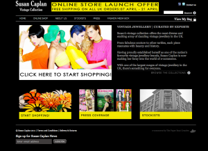 Susan Caplan E-commerce site